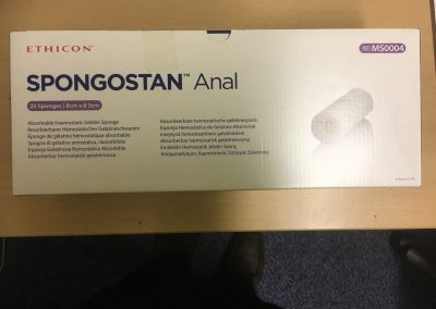 Spongostan Anal